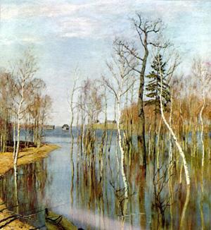Левитан Весна Большая вода