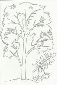Раскраски для детей на тему осень