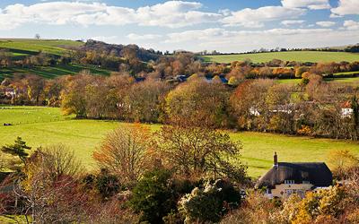 Осень в Англии