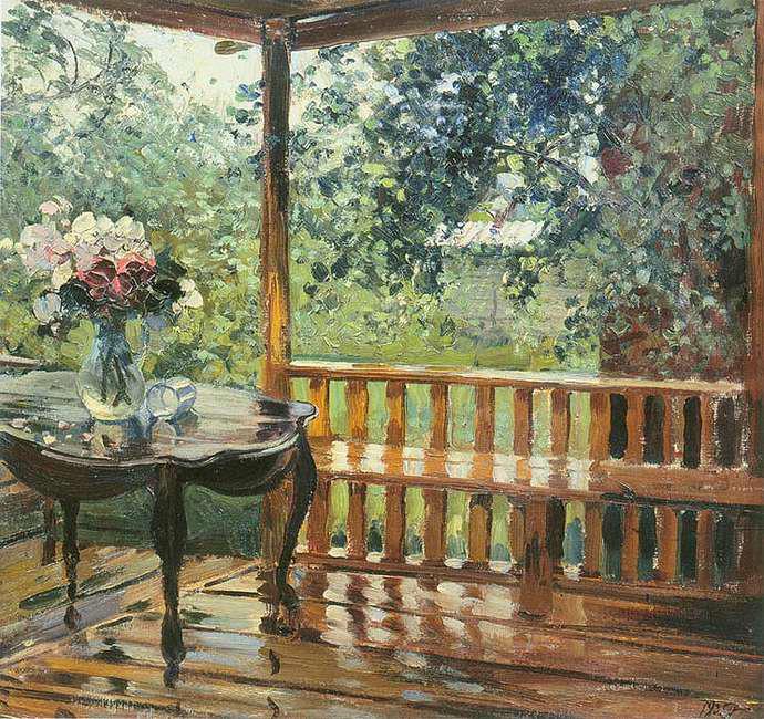 """... картины А. М. Герасимова """"После дождя: сезоны-года.рф/сочинение после дождя..."""