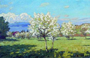 Петровичев Цветущие вишни