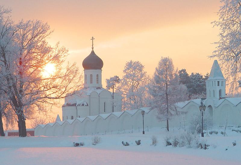 россия зимой
