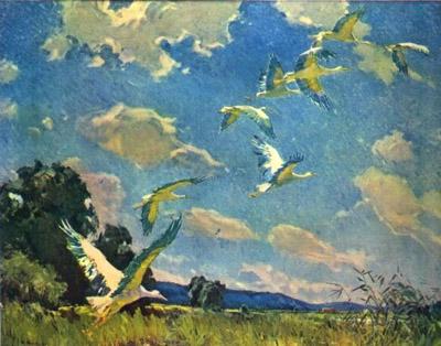 Сочинение: описание картины И. Тихого ...: сезоны-года.рф/сочинение аисты.html