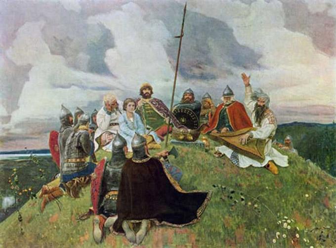 известные картины васнецова фото