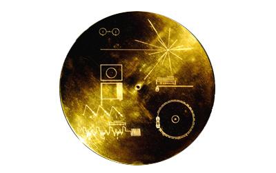 золотая пластинка на борту Вояджера