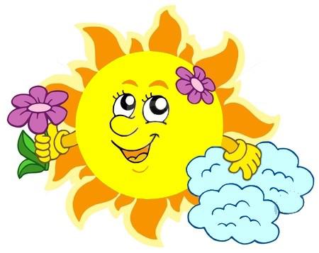 солнышко для детей в картинках