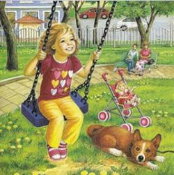 лето в картинках для детей