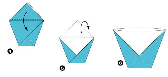 Для чайников как сделать оригами 188