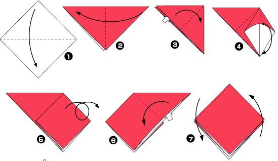 Как сделать редиску из бумаги