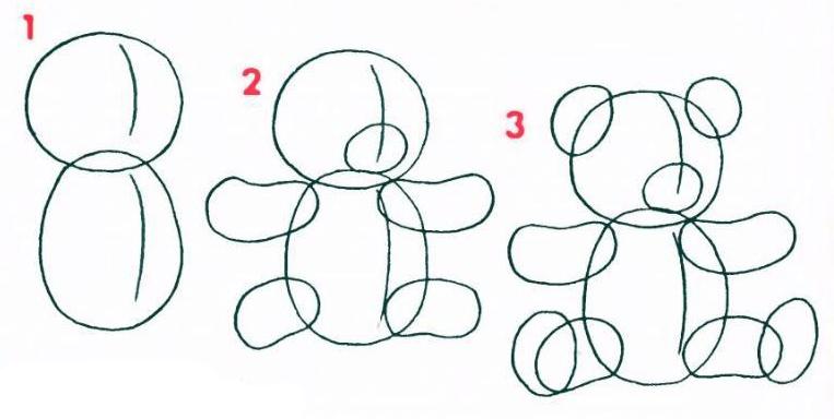 Как нарисовать маму с ребенком, папу, дочку и сына красиво 63