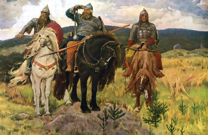 """... по картине В. М. Васнецова """"Три: сезоны-года.рф/урок по картине Три..."""