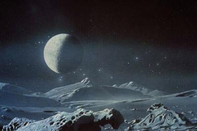 Поверхность планеты Плутон
