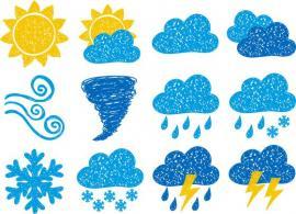 раскраски погода