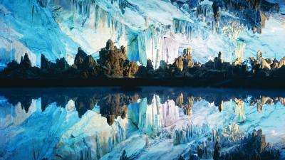 Crystal cave кристальная пещера в