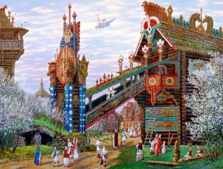 сочинение русское устное народное творчество