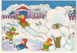 Раскраски о зиме природа