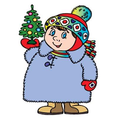 Зима в стихах и картинках для детей