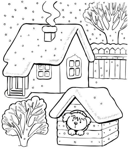снег загадка