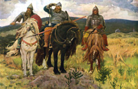 В. М. Васнецов Три богатыря