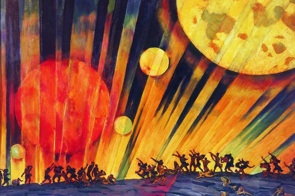 Картины с планетами