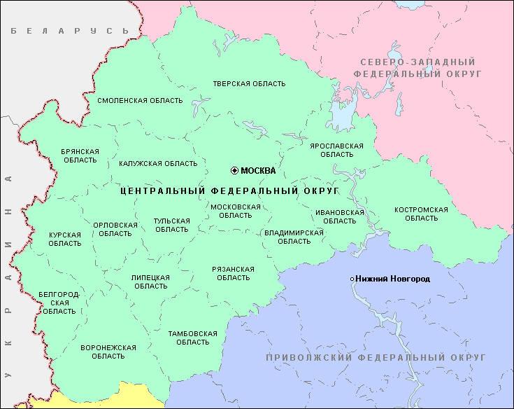 Города центральной россии реферат 151
