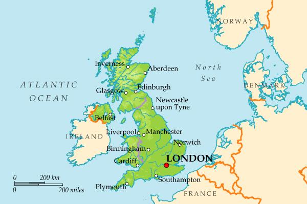 Доклад на тему англия по географии 2213