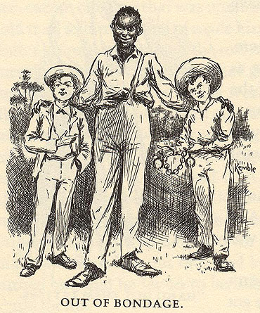 a description of jim and hucks journey down the river in the novel adventures of huckleberry finn by 170 quotes from the adventures of huckleberry finn: huck finn i felt good and all and got to thinking over our trip down the river and i see jim before me.