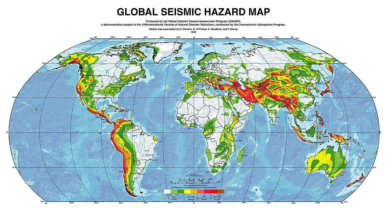 Доклад на тему сейсмические пояса земли 6286