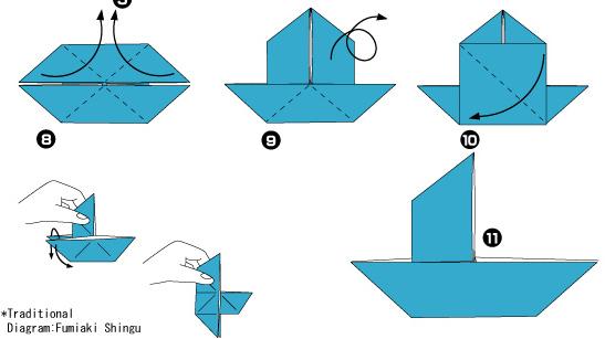 Квадрат из бумаги схема фото 300