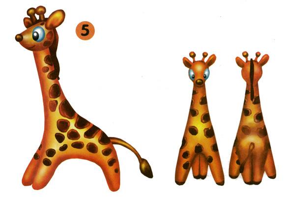 жираф из пластилина пошагово с картинками девушек цветотипа осень