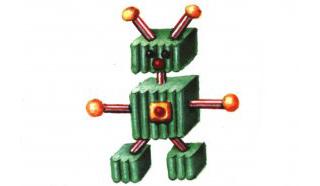Картинки как сделать робота из пластилина