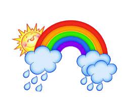солнышко и радуга детские картинки
