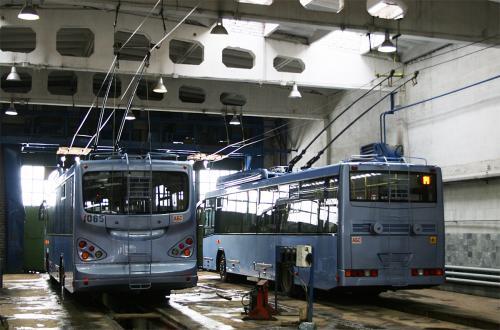 Троллейбусы Башкирского троллейбусного завода