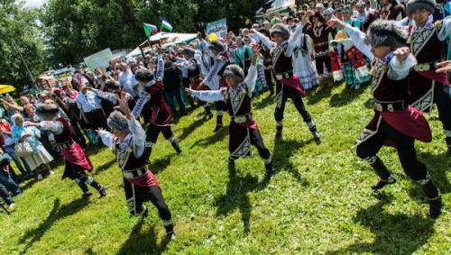 Башкирский праздник Сабантуй