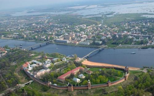 Нижний Новгород на Волге