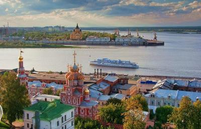 Нижний Новгород - город на реке
