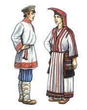 Мордовский народ