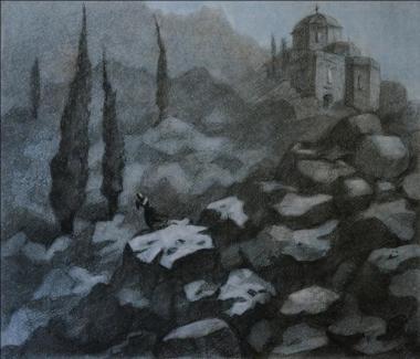 """Г.Ломовцева - М.Лермонтов """"Мцыри"""", конкурс 2013"""