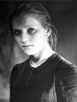 Советская актриса Татьяна Бедова в образе Сонечки Мармеладовой
