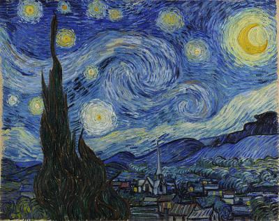 Винсент ван Гог Звёздная ночь