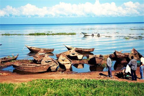 озеро Виктория, Уганда
