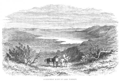 исследование Австралии, иллюстрация John McDouall, озеро Торренс