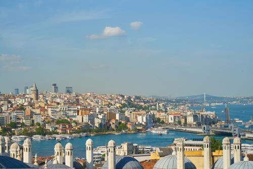 Устье реки в Стамбуле