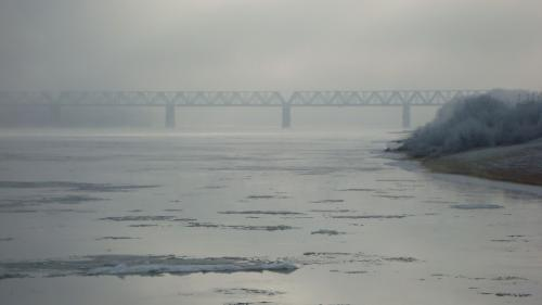 Осенний ледоход